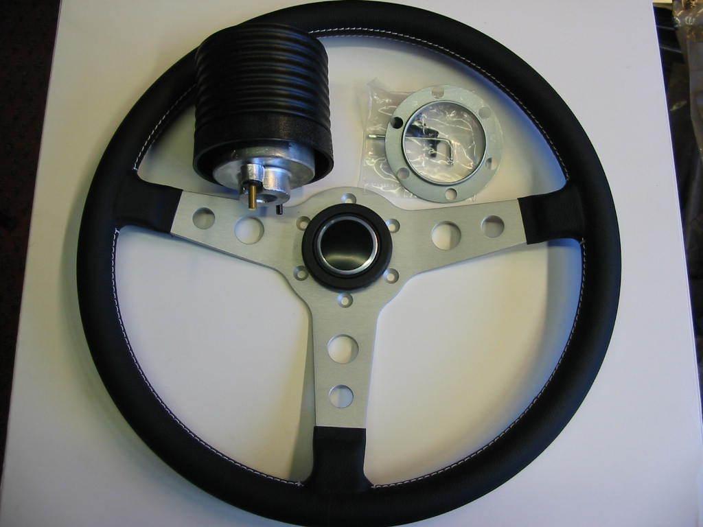 ascona manta a lederlenkrad 360mm leather steering wheel. Black Bedroom Furniture Sets. Home Design Ideas