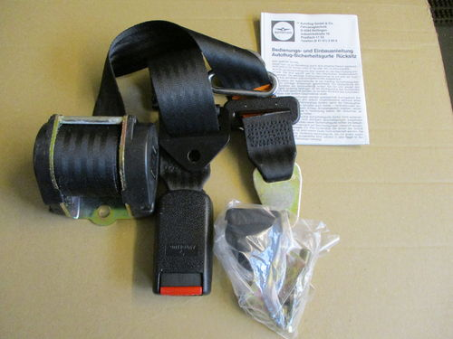 2-Punkt Automatiksicherheitsgurt hinten / Automatic safety belt rear